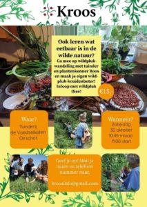Wildpluk wandeling en workshop wilde kruidenboter maken. @ Tuinderij de Voedselketen